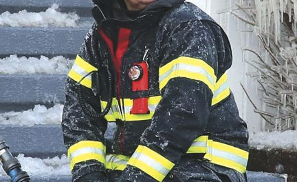 AMSTERDAM FIREFIGHTER ERICK HENDRICKS