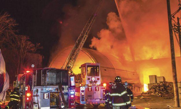 Massive Multi-Alarm Fire in Passaic