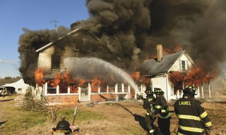 Delmar Holds Controlled Burn