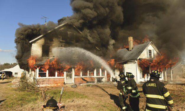 Delmar Holds Controlled Burn