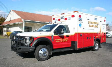 DUANESBURG VOLUNTEER AMBULANCE CORPS (NY) TAKES DELIVERY OF NEW HORTON AMBULANCE
