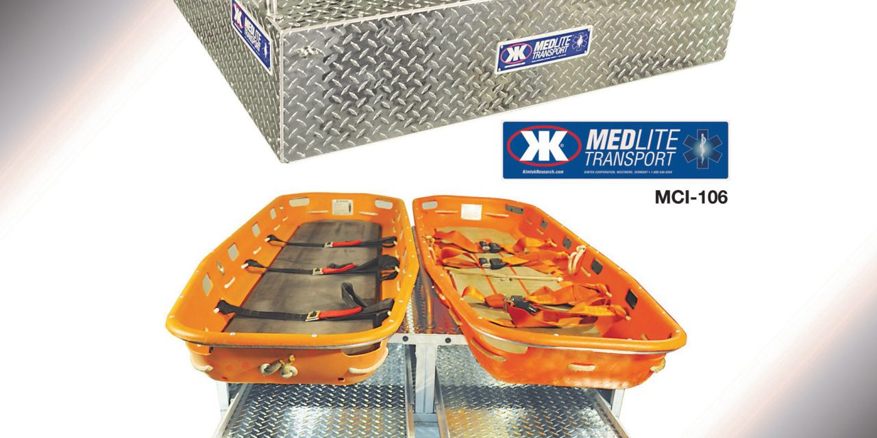 KIMTEK CORP INTRODUCES MEDLITE TRANSPORT SKID
