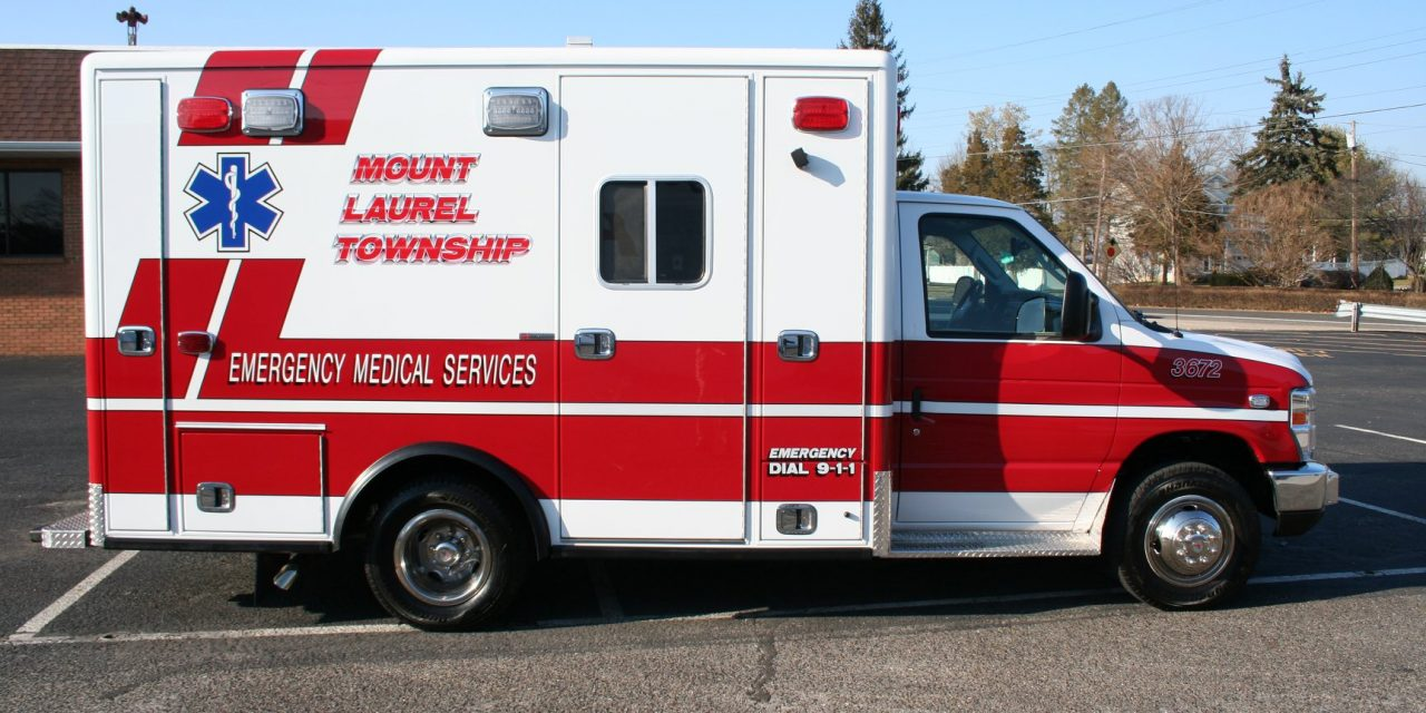 MOUNT LAUREL TOWNSHIP EMS (NJ) TAKES DELIVERY OF HORTON E-350 AMBULANCE