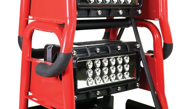 STACKABLE SCENE LIGHTING FROM ZIAMATIC CORP