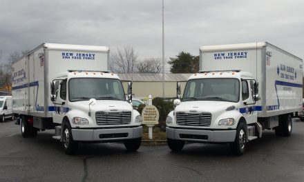 VCI DELIVERS 3 FREIGHTLINER BOX TRUCKS TO THE NEW JERSEY EMS TASK FORCE