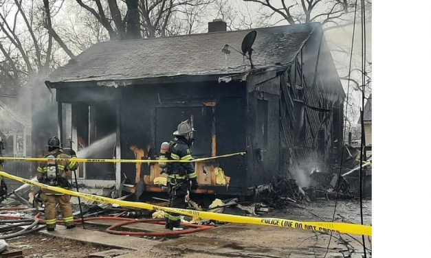 TWO FIREFIGHTERS INJURED IN PRINCE GEORGE COUNTY BLAZE