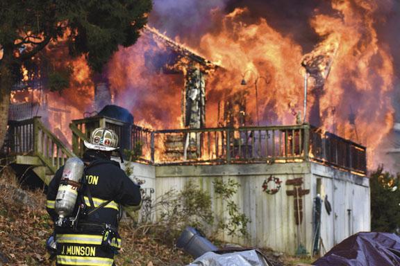 Non-Hydrant Area Blaze