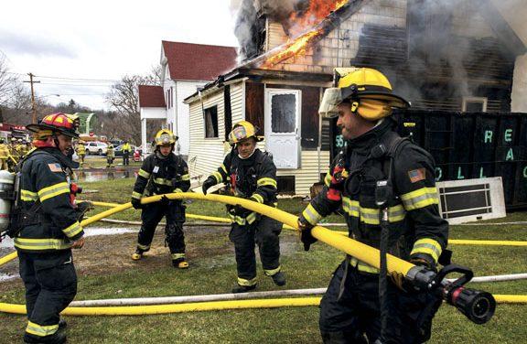 Fire Destroys Fort Hunter Home