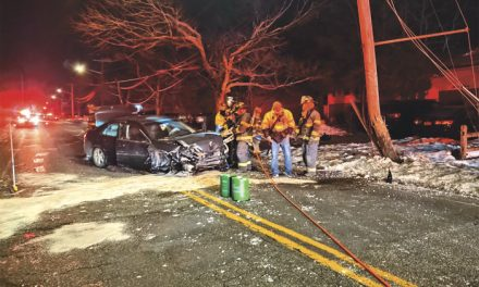1 Injured in Bellport MVA