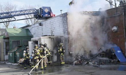Strip Mall Fire on Hillside Avenue