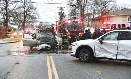 Hempstead Handles MVA with Fire