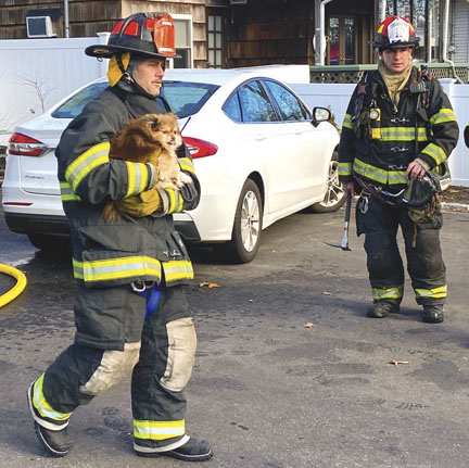 Home Burns in Shirley
