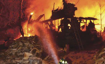 Colchester 2-Alarm Barn Fire