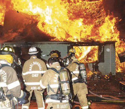 Marlborough House Fire