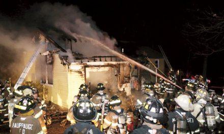 Stubborn Fire in Hauppauge