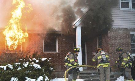 Fire Leaves 9 Homeless