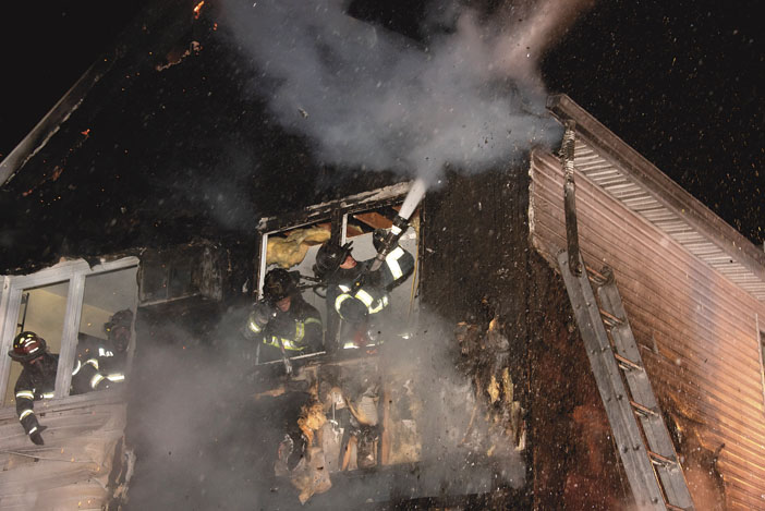 Franklin Sq. -Munson Handle House Fire