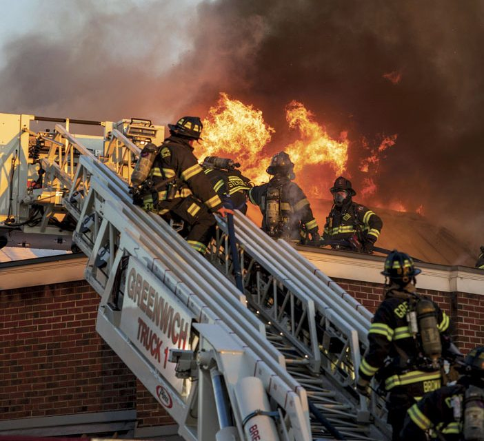 Fatality at Greenwich Commercial Building Fire