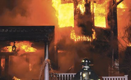 Townsend Church Fire
