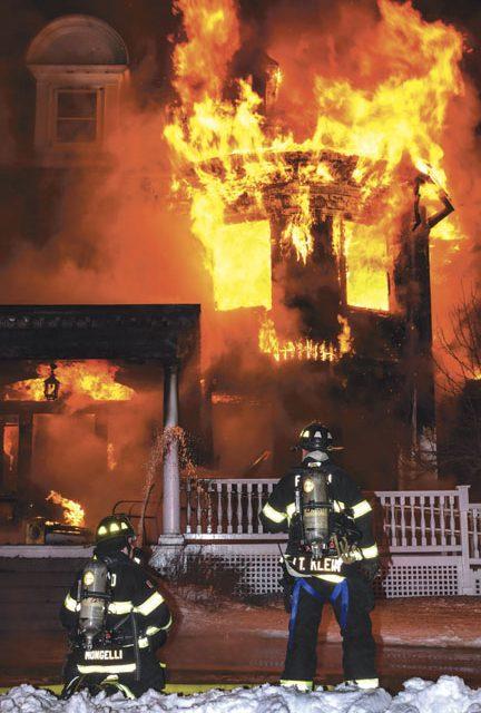 Townsend Church Fire