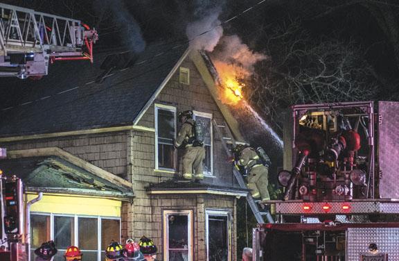 Fatality at Merrimack Blaze