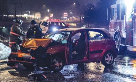 Merrimack MVA Injures 1; Truck Leaves the Scene