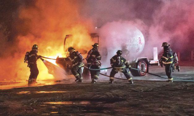 Westhampton Beach Propane Truck Fire