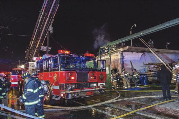 Wallington Commercial Fire