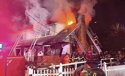 Flames Show in Mamaroneck Village