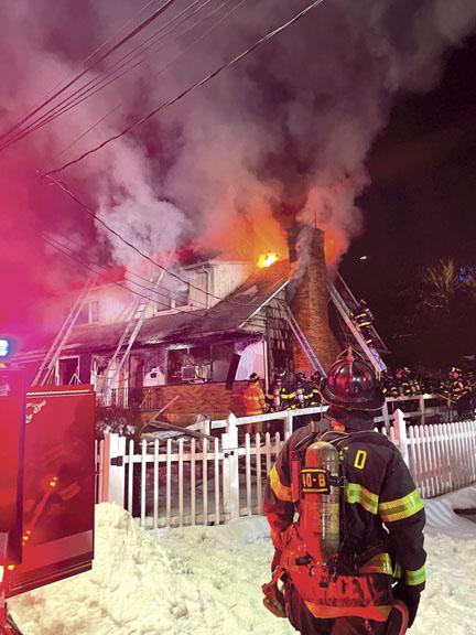 Flames Show in Mamaroneck Village