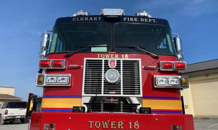 ELKHART (IN) TAKES DELIVERY OF NEW SUTPHEN TOWER LADDER