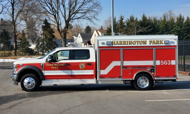 BOROUGH OF HARRINGTON PARK TAKES DELIVERY OF NEW FORD F-550 4X4 SUPER DUTY