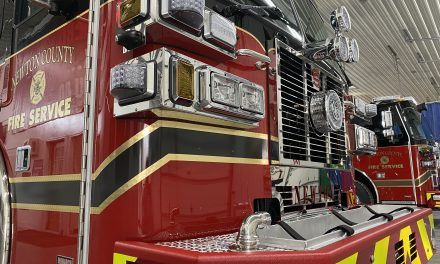 NEWTON COUNTY (GA) TAKES DELIVERY OF NEW SUTPHEN PUMPER