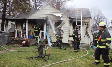 SEVEN OCCUPANTS DISPLACED IN RESIDENTIAL STRUCTURE FIRE