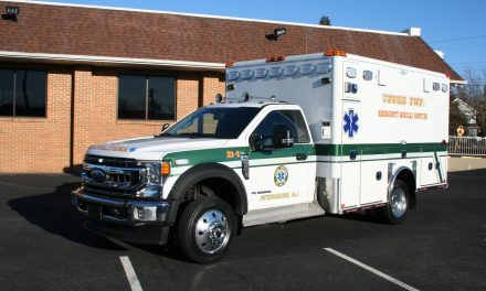 UPPER TOWNSHIP DIVISION OF EMS (NJ) TAKES DELIVERY OF NEW HORTON AMBULANCE