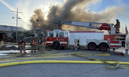 CINCINNAATI FIREFIGHTERS BATTLE TWO-ALARM STRUCTURE FIRE