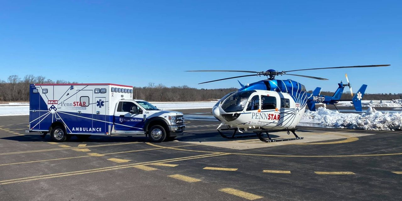PENN-STAR TAKES DELIVERY OF NEW FORD-550 CRITICAL CARE AMBULANCE