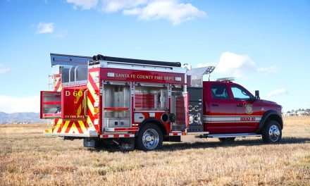 SANTE FE COUNTY (NM) TAKES DELIVERY OF NEW SVI-BUILT MINI PUMPER