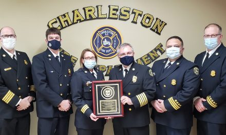 CHARLESTON FIRE DEPARTMENT (NC) RECEIVES ACCREDITED AGENCY STATUS