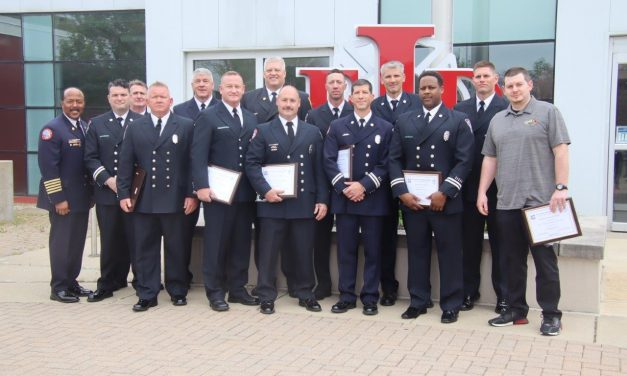 INDIANAPOLIS FIREFIGHTERS AND TELE-COMMUNICATOR HONORED WITH FIRE POLICE DEPUTY SHERIFF AWARD