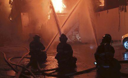 Pleasantville Fire Extends