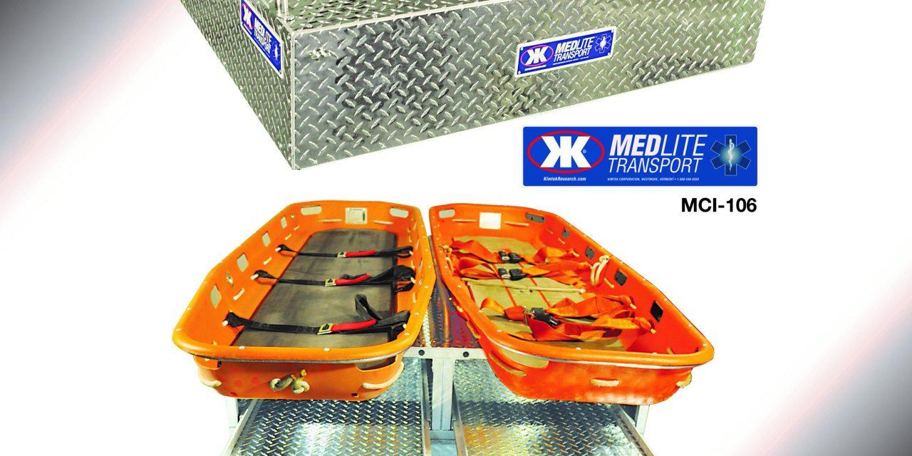KIMTEK CORP. INTRODUCES THE MEDLITE TRANSPORT MEDICAL SKID UNIT