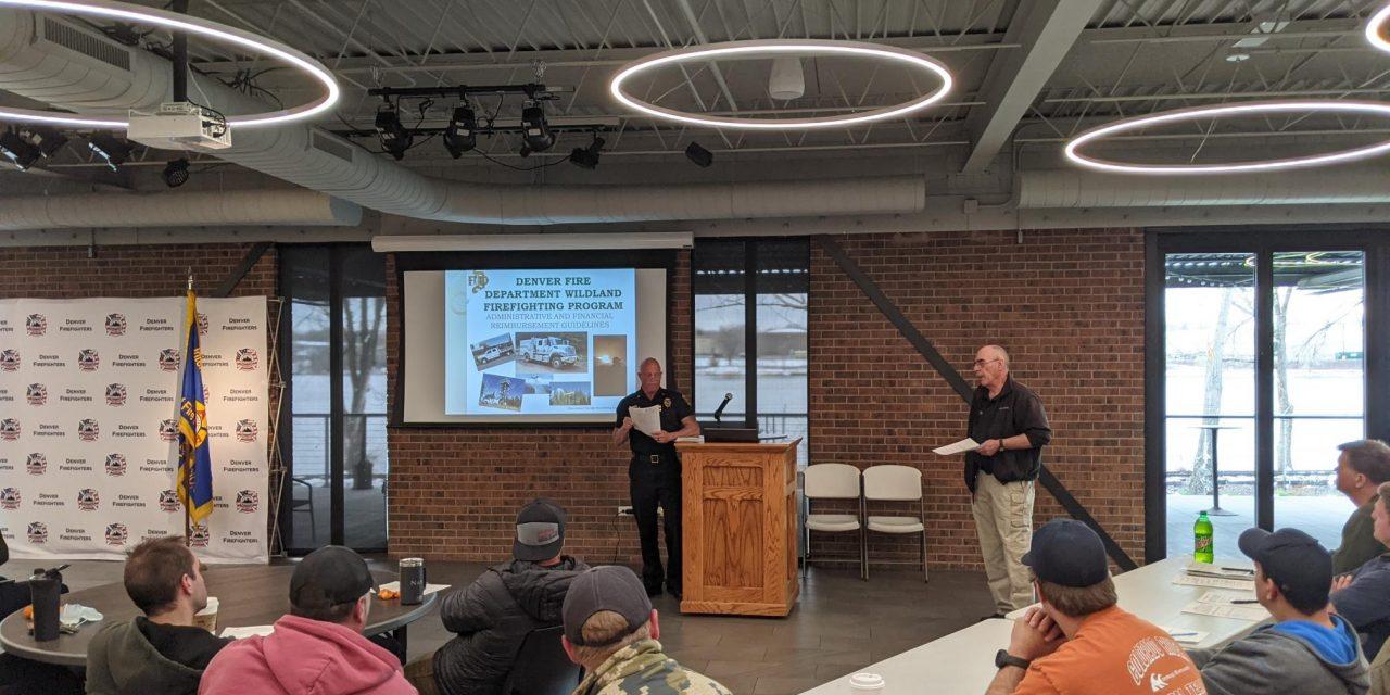 DENVER FIRE WILDLAND TEAM TRAINS FOR 2021 FIRE SEASON
