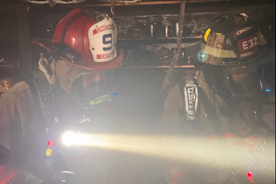 TEN RESIDENTS DISPLACED IN FAST MOVING APARTMENT BLAZE