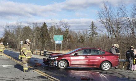 Car vs. Dump Truck in Coxsackie