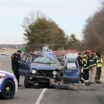 Ejections, Fatality at Yaphank MVA