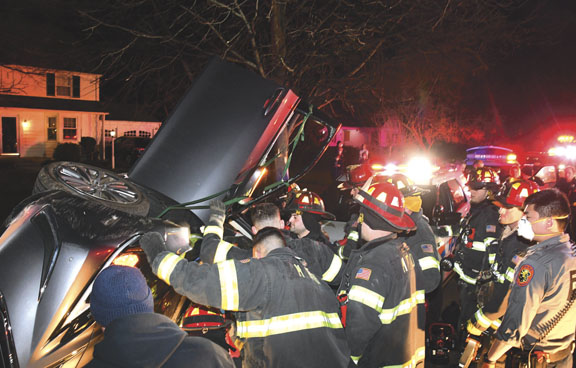 Overturn & Extrication in Massapequa