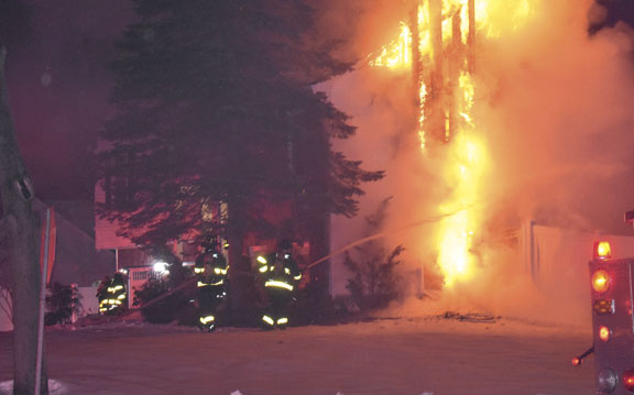 Chimney Fire Extends in Coram