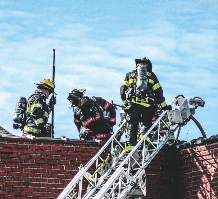 3-Alarm Church Fire