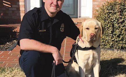 Stafford County Peer-Support Canine, Larry